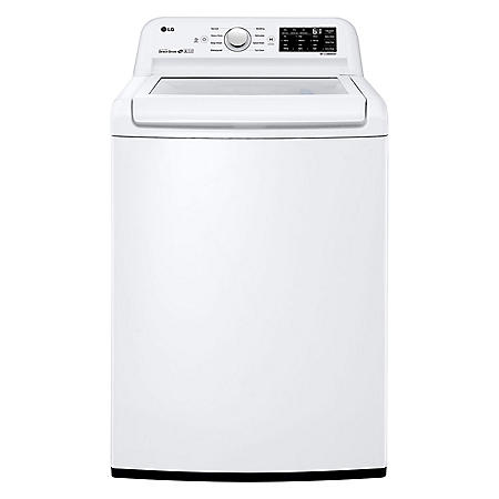 LG 4.5 cu. ft. Top Load Washer with 6Motion Technology