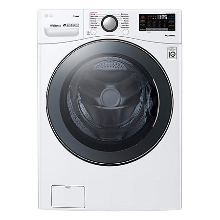 LG 4.5 cu. ft. Front Load Washer with TurboWash360
