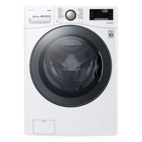 LG - WT7100CW - 4.5 Cu Ft Capacity Top Load Washer with 6Motion Technology - White