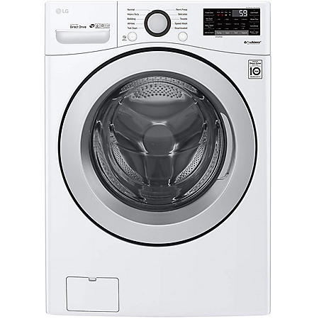 LG 4.5 cu. ft. Front Load Washer with SmartThinQ Technology