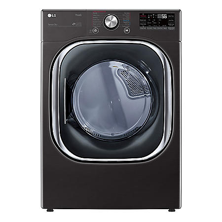 LG 7.4 cu. ft. Ultra Capacity Smart Wi-Fi Enabled Dryer