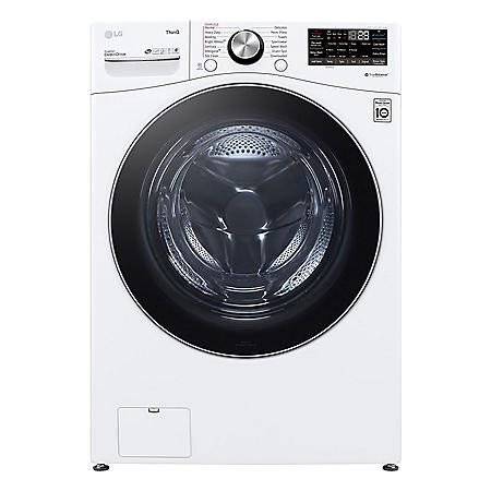 LG Mega Capacity Front Load Washer