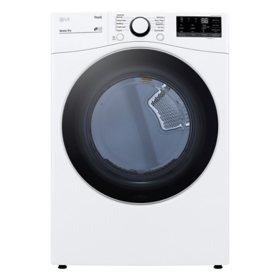 LG 7.4 cu. ft. Ultra Capacity Front Load Dryer