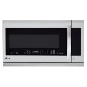 LG - 2.2. cu. ft. Over-the-Range Microwave Oven - LMHM2237ST Stainless-Steel
