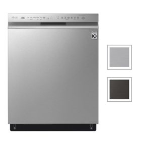 LG Front Control Dishwasher with QuadWash, 46dBA