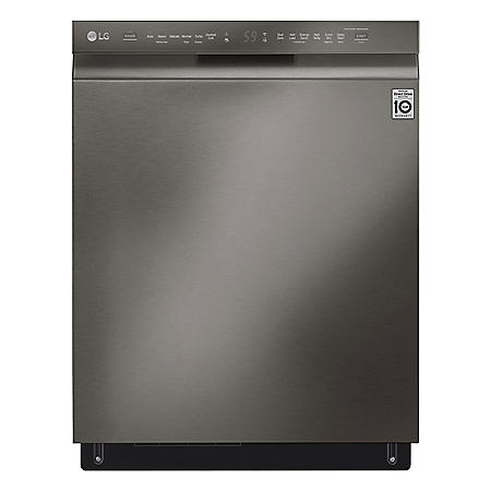 LG Front Control Dishwasher with QuadWash, 46dBA