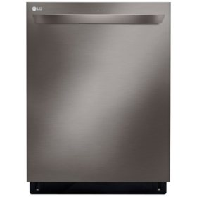 LG - LDT5678BD - Top Control Smart Wi-Fi Enabled Dishwasher with QuadWash - Black Stainless Steel