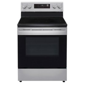 LG Smart Wi-Fi Enabled Electric Range