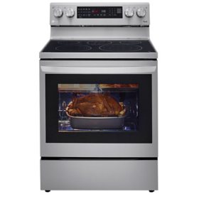 LG True Convection InstaView Electric Range