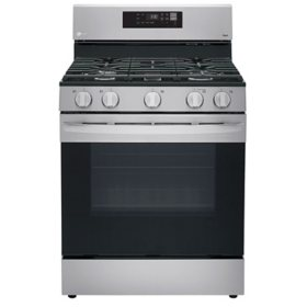 LG Smart Wi-Fi Enabled Gas Range