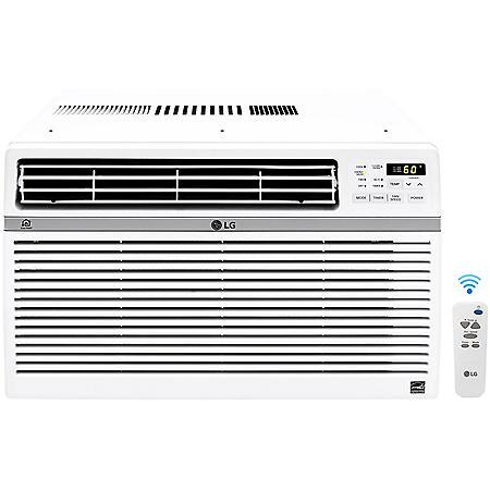 LG Energy Star 12,000 BTU 115V Window-Mounted Air Conditioner with Wi-Fi Control