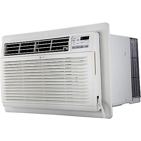 LG 11,200 BTU 230V Through-the-Wall Air Conditioner with 11,200 BTU Supplemental Heat Function