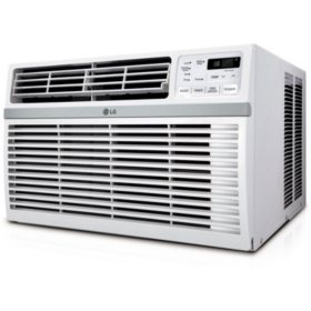 LG High Efficiency 8,200 BTU Window Air Conditioner with Remote Control