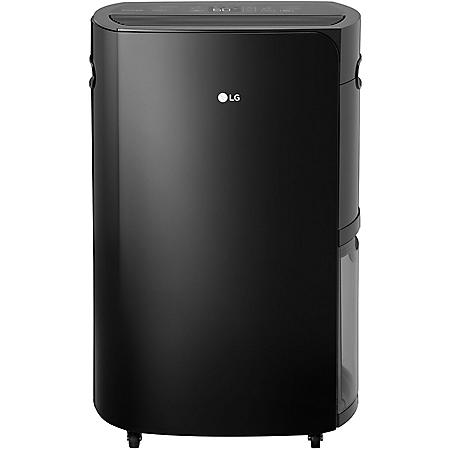 LG PuriCare 2019 Energy Star 50-Pint Dehumidifier in Black