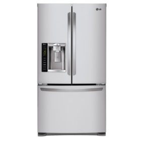 LG Ultra-Large Capacity 3-Door French Door Refrigerator with Smart Cooling, LFX25974ST Stainless Steel