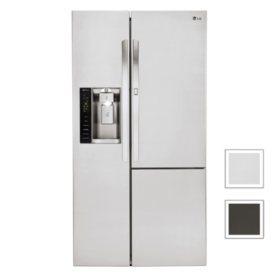 LG 26 cu. ft. Side-by-Side Refrigerator with Door-in-Door
