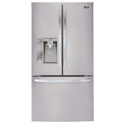 LG 29 cu. ft. Ultra-Capacity 3-Door French Door Refrigerator, LFXS29766S Stainless Steel
