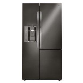LG - 26 cu. ft. Side-by-Side Refrigerator with Door-in-Door - LSXS26366 - (CHOOSE: Color)