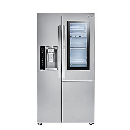 LG 26 cu. ft. Side-by-Side Refrigerator with InstaView Door-in-Door