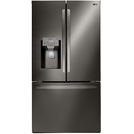 LG - LFXS26973S - 26 cu ft Capacity Smart Wi-Fi Enabled French Door Refrigerator - (CHOOSE: Color)