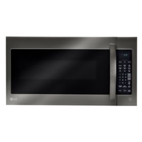 LG - 2.0 cu.ft. Over-the-Range Microwave Oven - LMV2031BD Black Stainless Steel