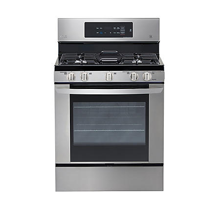 LG 5.4 cu. ft. Single Oven Gas Range with Easy Clean