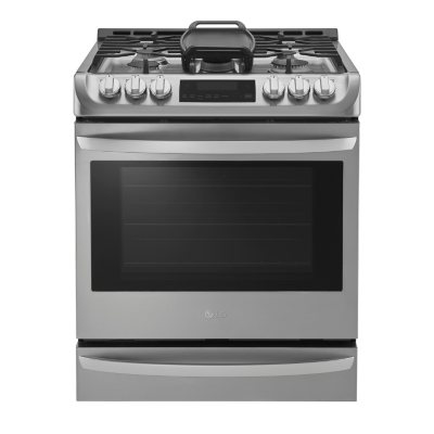 LG 6.3 cu. ft. Gas Slide-in Range with ProBake Convection and EasyClean - LSG4513ST Stainless-Steel
