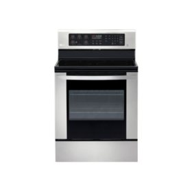 LG 6.3 cu. ft. Electric Range with EasyClean in Stainless Steel