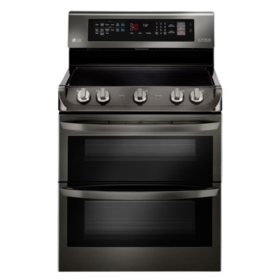LG 7.3 cu. ft. Double Oven Electric Range with ProBake Convection