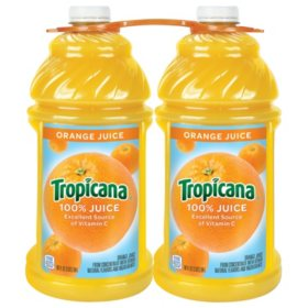 Tropicana 100% Orange Juice - 96 fl. oz. - 2 ct.