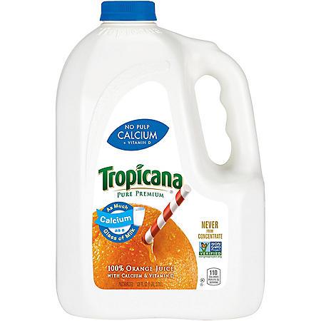 Tropicana® Pure Premium Orange Juice - 128 oz. Jug