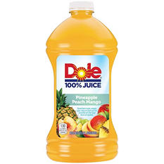 Dole Pineapple Peach Mango Juice - 2/96 oz. bottles