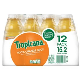 Tropicana Orange Juice (15.2 oz., 12 pk.)