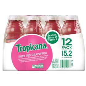 Tropicana Ruby Red Grapefruit (15.2 oz., 12 pk.)