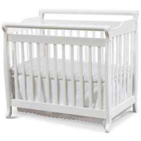 DaVinci Emily 2-in-1 Mini Crib and Twin Bed (Choose Your Color)