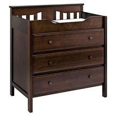 DaVinci Jayden 3-Drawer Changing Dresser, Espresso