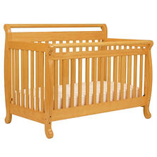 DaVinci Emily 4-in-1 Convertible Crib, Honey Oak