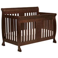 DaVinci Porter 4-in-1 Convertible Crib with Toddler Bed Conversion Kit, Espresso