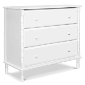 DaVinci Jenny Lind Spindle 3-Drawer Dresser (Choose Your Color)