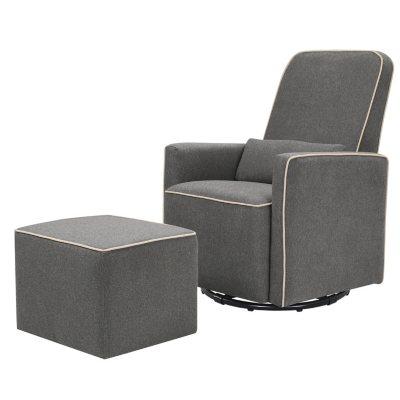 Strange Davinci Olive Swivel Glider With Bonus Ottoman Choose Inzonedesignstudio Interior Chair Design Inzonedesignstudiocom
