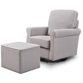 DaVinci Maya Swivel Glider and Ottoman (Choose Your Color)
