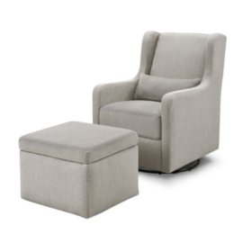 Carter's by DaVinci Adrian Glider and Ottoman (Choose Your Color)
