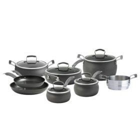 Epicurious 13-Piece Hard Anodized Chef Cookware Set