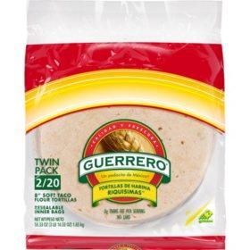 Guerrero Soft Taco Flour Tortillas (29.17oz / 2pk)