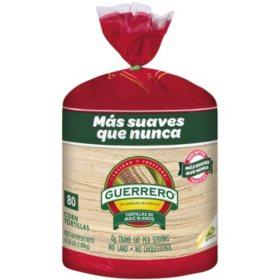 Guerrero White Corn Tortillas (80 ct.)