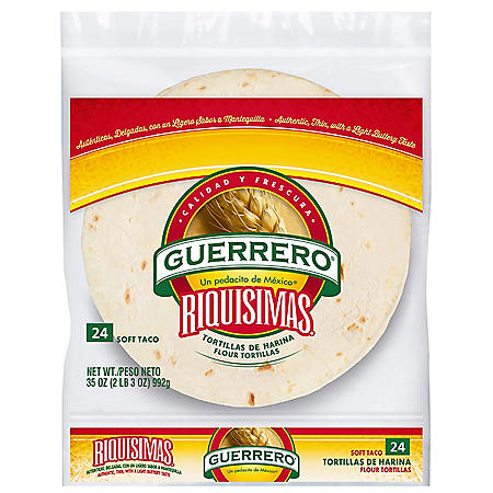 Guerrero Soft Taco Flour Tortillas (24 ct., 35 oz.)