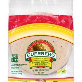 Guerrero Burrito Flour Tortillas (40.74oz / 2pk)