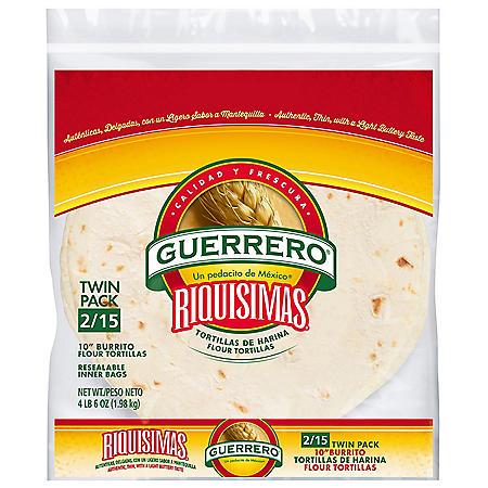 """Guerrero 10"""" Burrito Flour Tortillas (34.92 / 2pk)"""