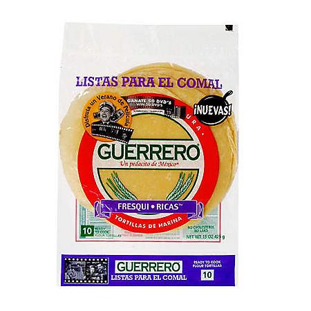Guerrero® Ready to Cook Flour Tortillas - 10 ct.