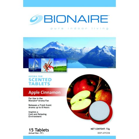 Bionaire Aroma Stand Fan Scent Tablets - Apple Cinnamon
